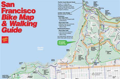 san francisco bike map maps routes san francisco bicycle coalition
