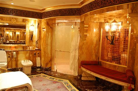 bathroom fancy future home gold image 143881 on