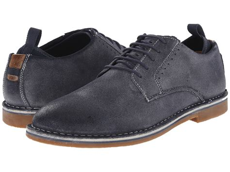 steve madden stannis navy mens lace up casual shoes shop