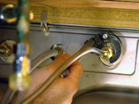 How To Remove Faucet From Kitchen Sink How To Install A Single Handle Kitchen Faucet How Tos Diy