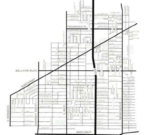 houston map bellaire buy houston home bellaire homes for sale