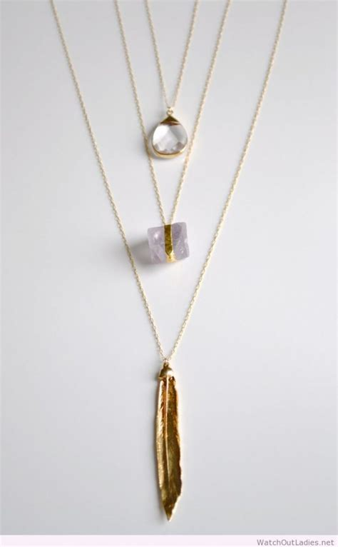 awesome golden necklace out