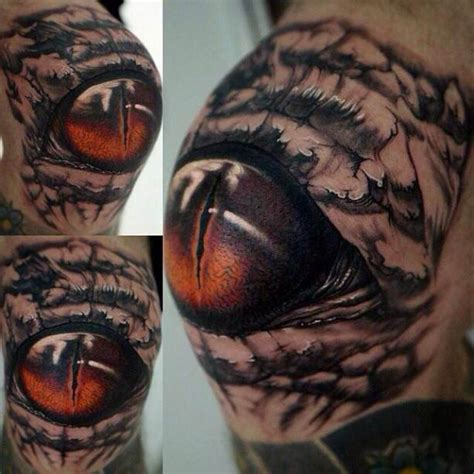 tattoo 3d animal tattoo animal eye shoulder 3d ideas tattoo designs