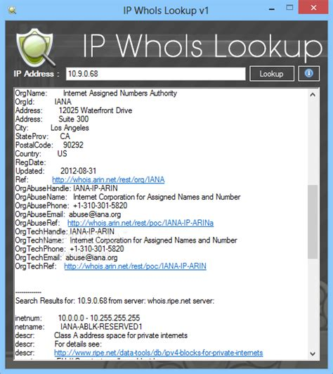Ip Address Owner Lookup Ip Whois Lookup