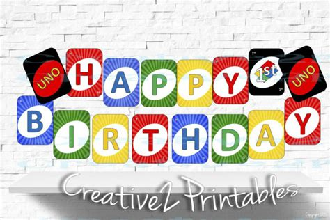 printable uno cards printable uno card cards happy 1st birthday by