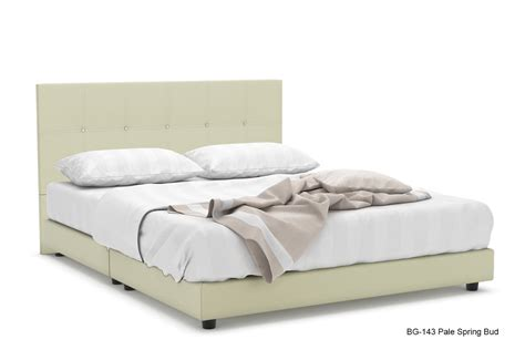 Freds Furniture by Fred Faux Leather Bed Frame Beds Bedroom Furniture