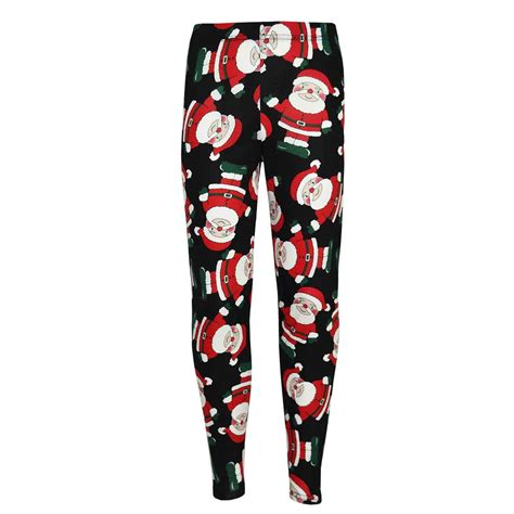 Penguin Sweater Legging santa snowman penguin print fashion legging ebay