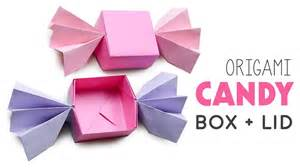 Origami Box With Lid Printable - easy origami box lid comot