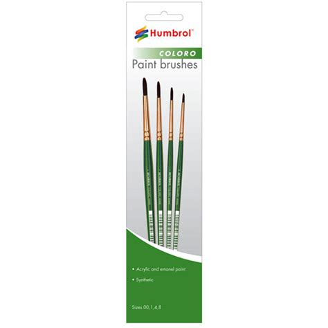 Humbrol Ag4303 Brush Pack humbrol coloro paint brush ebay