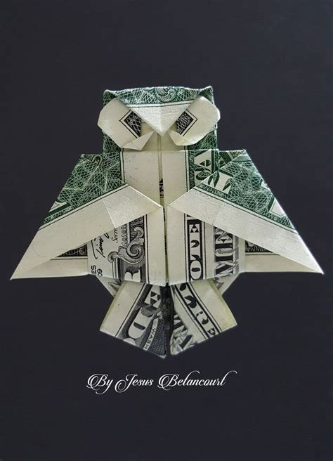 Tree Frog Money Origami Dollar Bill Vincent The Artist - 25 best ideas about money origami on folding