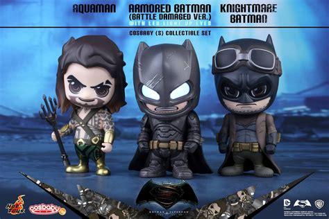Toys Cosbaby Bvs Superman Boxset toys cosb225 227 batman v superman of justice cosbaby s series armored batman