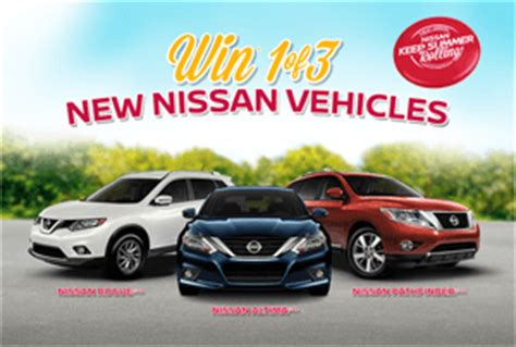 Nissan Summer Sweepstakes 2015 Winners - nissanusa com keepsummerrolling nissan usa keep summer rolling service sweepstakes
