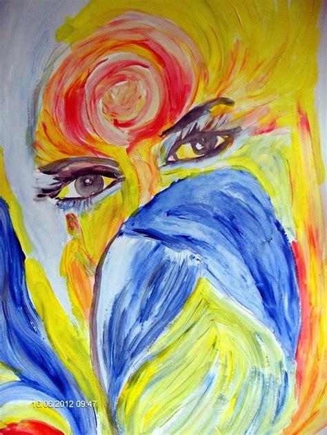 art dinca just un regard painting by farfallina art gabriela dinca