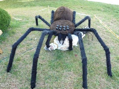 How To Make A Large Spider Decoration by 17 Best Ideas About Spider On