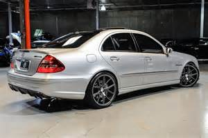 Mercedes 55 Amg 2004 Mercedes W211 E55 Amg On 20 Quot Verde Axis Wheels