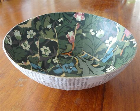 Make A Bowl Out Of Paper - vintage paper bowl 183 how to make a paper bowl 183 papercraft