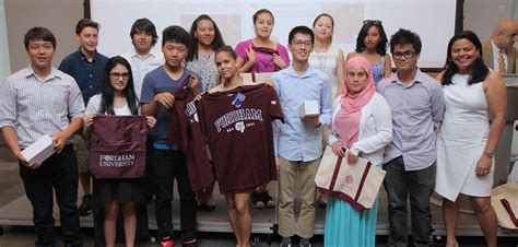 Professional Mba Fordham Cost by Generation High School Students Get A Glimpse Of College