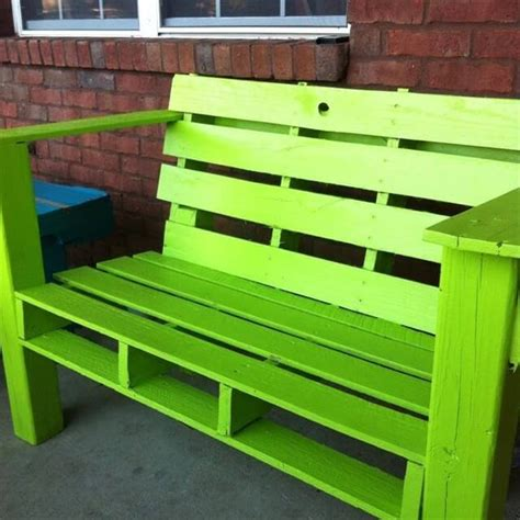pallet benches pallet furniture for outdoors 99 pallets