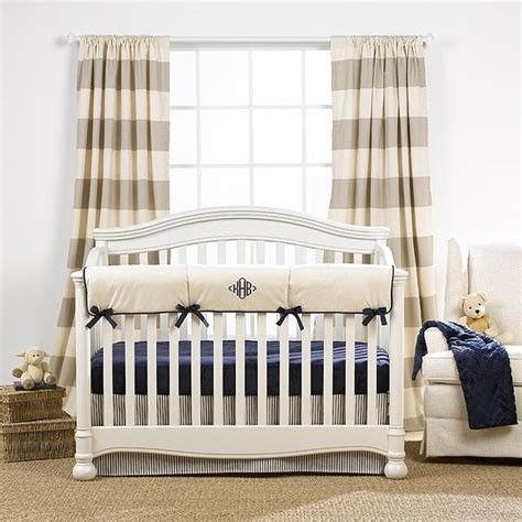 Monogrammed Crib Bedding Gender Neutral Crib Bedding Baby Bedding Monogrammed Baby Bedding