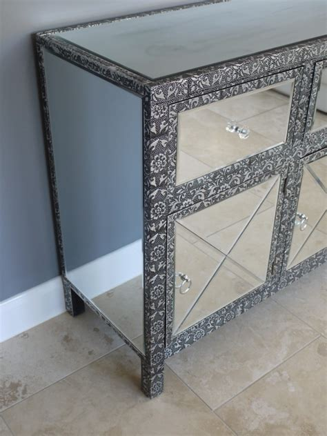 Silver Drawer by Range Silver 3 Drawer 3 Door Sideboard Melody