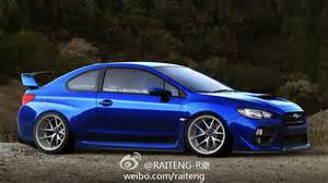 Subaru Wrx Tuning 2015 Subaru Wrx Sti Coupe Tuning Raceing By Ailo9127 On