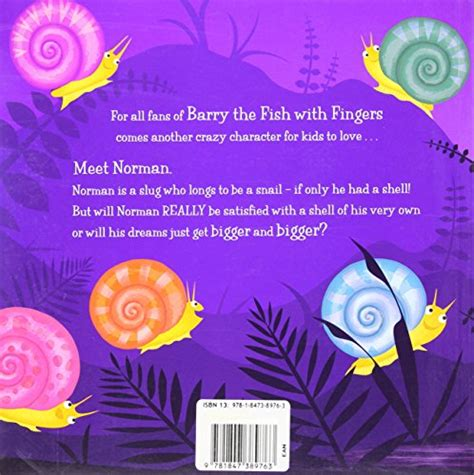 norman the slug with the silly shell books children s books reviews norman the slug with the