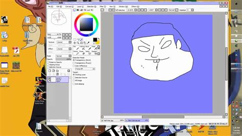 paint tool sai tutorial magic wand how to use magic wand in paint tool sai