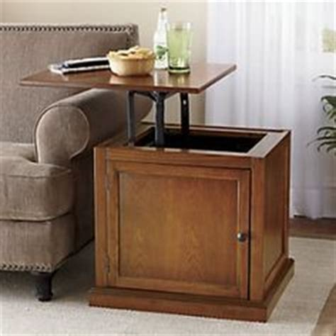hepburn lift top side end table amish lancaster mission tv stand no drawers tv stands