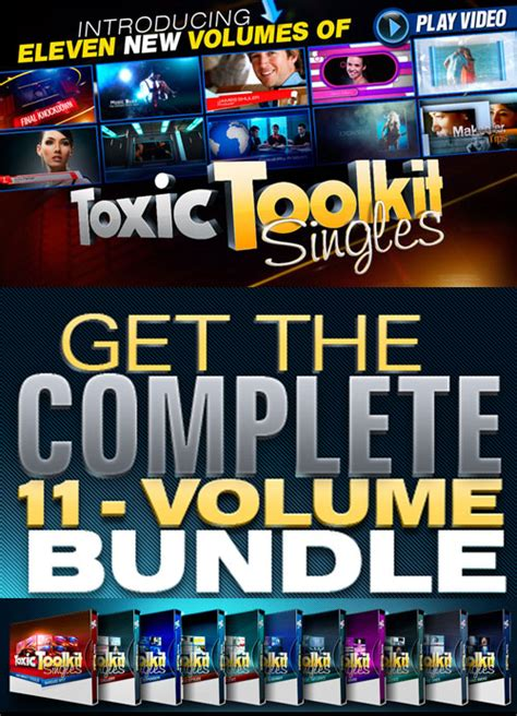 Digital Juice Toxic Toolkit Singles Full 187 Vector Photoshop Psdafter Effects Tutorials Digital Juice Templates
