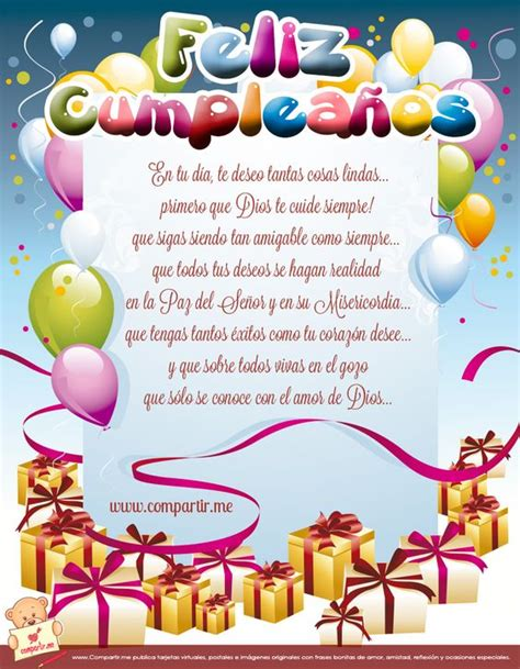 imagenes con frases de cumpleaños para el facebook tarjeta de cumplea 241 os cristianas gratis para facebook