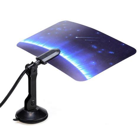 digital indoor tv antenna hdtv dtv hd vhf uhf flat design ultra thinlightweight ebay