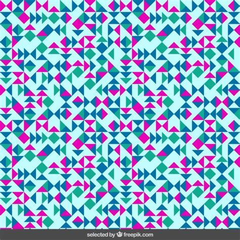 pattern light svg little triangles pattern in light blue background vector