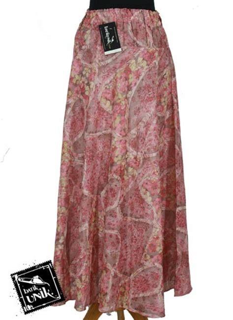 Rok Panjang Motif All Size rok sifon panjang batik cantik motif bunga bawahan rok batik murah batikunik