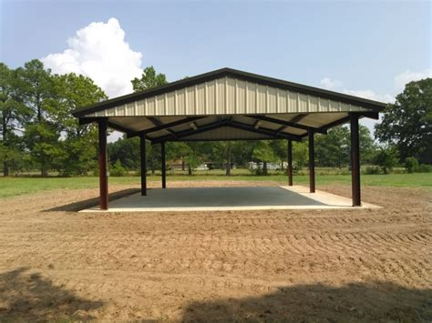 Metall Pavillon by Custom Steel Pavilions Metal Shade Structures Buildings