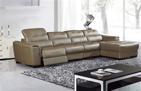 3 Pc Taupe Tan Genuine Leather Sectional Sofa Chaise Chair 3 Pc Sectional Sofa