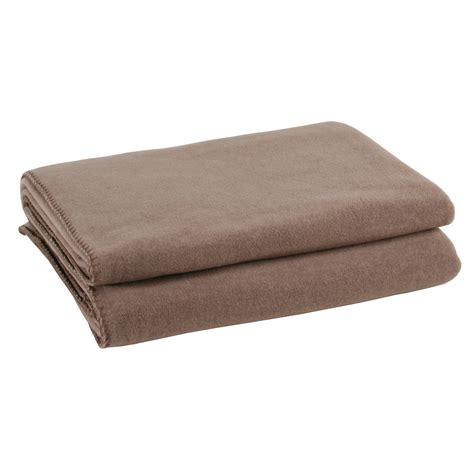 decken shop zoeppritz soft fleece decke braun zoeppritz querpass shop