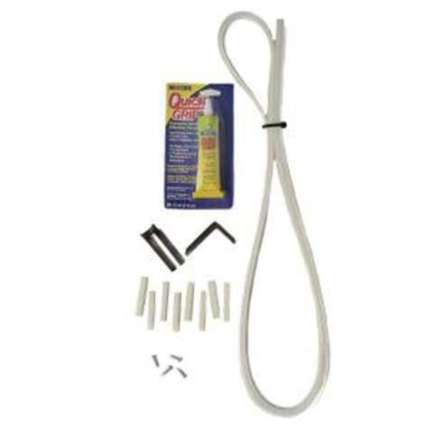 Sliding Glass Door Kit Slide Ezzz Glass Sliding Patio Door Repair Kit In White 1008 W The Home Depot