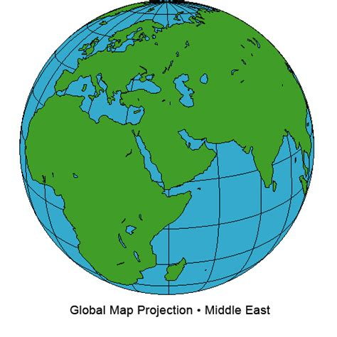 printable world map for globe middle east global map projection blank printable middle