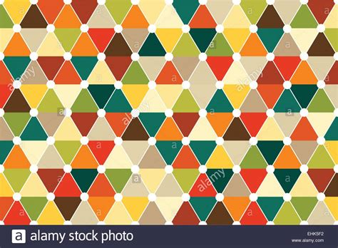 triangle color pattern vector quincunx seamless triangle pattern vector with retro color