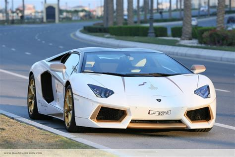 lamborghini gold and white gold plated lamborghini aventador is quot 1 of 1 quot w