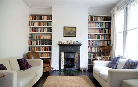 bookshelves next to fireplace shelving idea for the wall with the fireplace maybe reclaimed wood living rooms