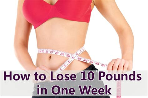 Detox In A Week To Lose 10 Pounds by How To Lose Weight In A Week Howsto Co