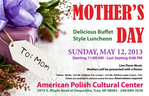 mothers day 2013 mother s day buffet sunday may 12 2013