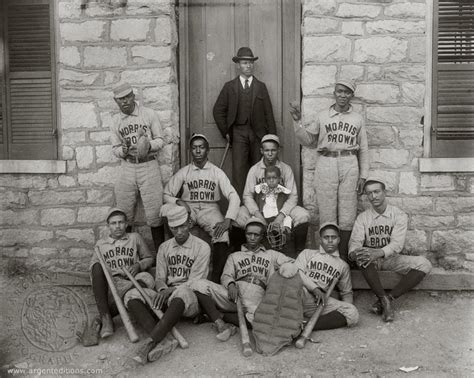 Uga Early Essay by Sports American Baseball Players From Morris Brown College Pictures From Argent