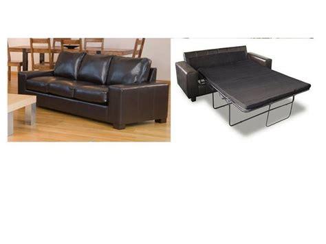 Large Black Leather Sofa 3 Seater Black Leather Sofa Bed Catosfera Net