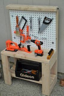 girls tool bench diy play workbench on pinterest kids workbench