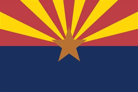 Home Decor Phoenix Az arizona state flag glossy poster picture photo stars