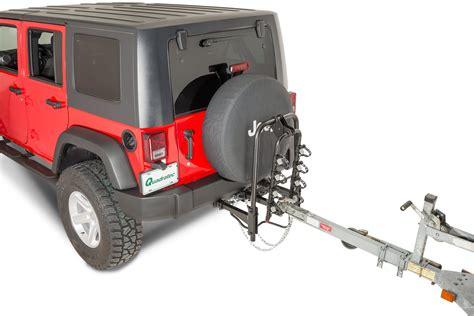 Jeep Jk Bike Rack by Versahitch Bike Rack For 07 17 Jeep Wrangler Jk Quadratec