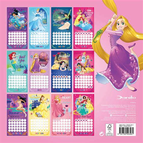 2018 disney princess wall calendar day disney princess calendar 2018 calendar club uk