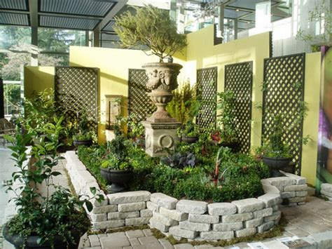 the simple home garden ideas beautiful homes design